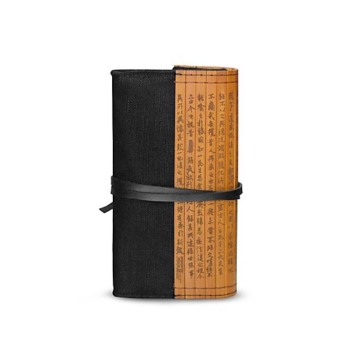 codlady Китай Ветер холст бамбук черный мешок