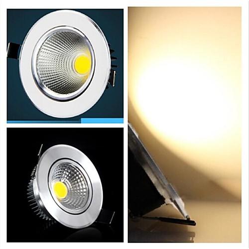 3w 300-350lm 3000-3500k теплый белый поддержка цвет затемнения COB светодиодный индикаторы панели Светодиодные потолочные светильники (220В)