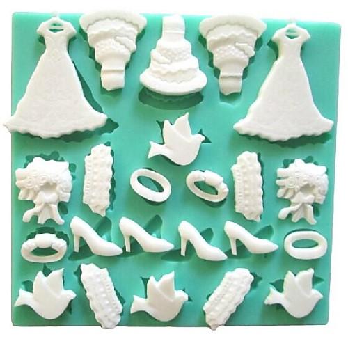 1шт Силикон Экологичные 3D Своими руками Торты Печенье Шоколад выпечке Mold Инструменты для выпечки фото