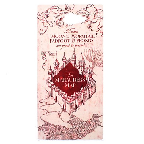 Marauder's Map Harry Potter Movie Series Transparent Pattern PC Hard Case for Sony Xperia M2 S50h