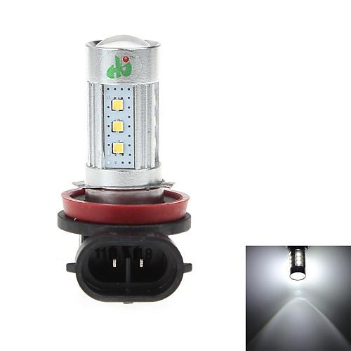 HJ h8 15w 600lm 6000-6500k 15  SMD светодиоды лампы для автомобильных фар / противотуманных фар белого света (12-24)