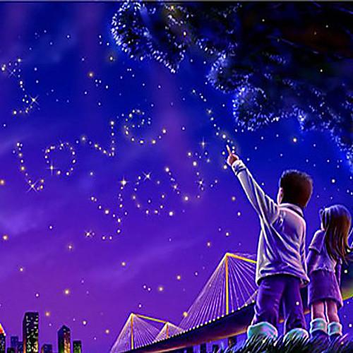 Романтический прожектор ночного звездного неба - ночник (2хАА/USB)