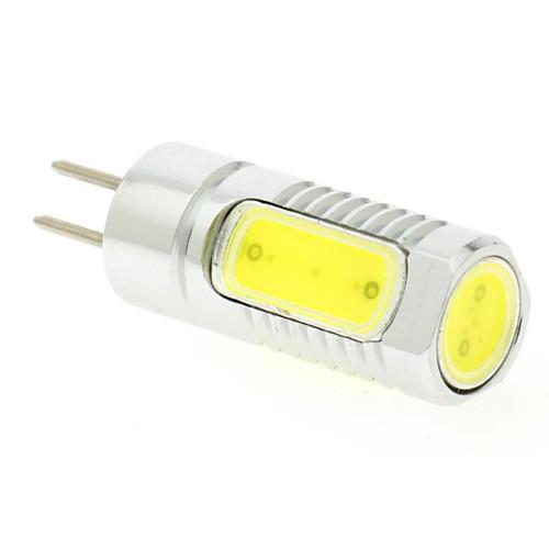 3W 6500lm Двухштырьковые LED лампы T 4pcs Светодиодные бусины COB Холодный белый 24V 12V