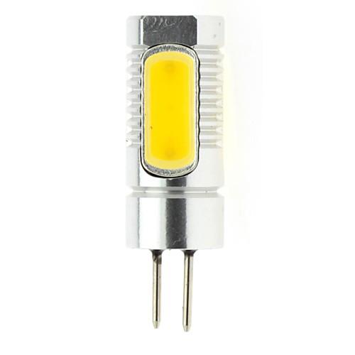 4W 4 COB 300 LM Тёплый белый T Двухштырьковые LED лампы DC 12 / DC 24 V от MiniInTheBox INT