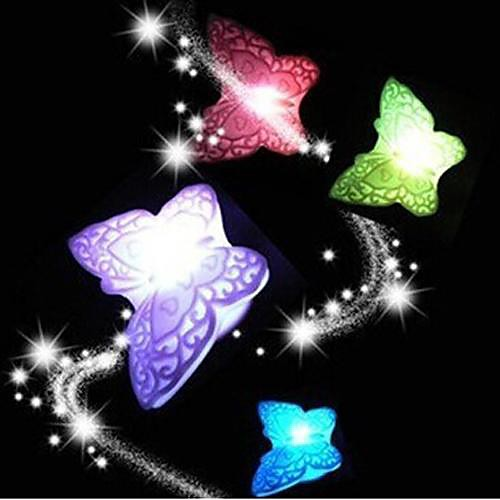 Coway красочные бабочки привело ночник