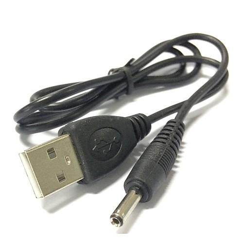 0,7 м USB 2.0 до 3,5 мм баррель разъем разъем DC кабель питания фото