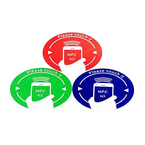 NFC метки набор наклеек полностью совместим для всех NFC включен телефон ntag203 144 байт (3 шт)
