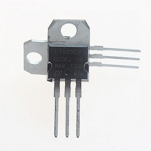 L7805CV регулятор напряжения 5V / 1.5A к 220 (5шт)