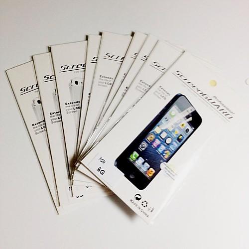 Защитная плёнка для экрана Apple для iPhone 6s iPhone 6 10 ед. Защитная пленка для экрана стоимость