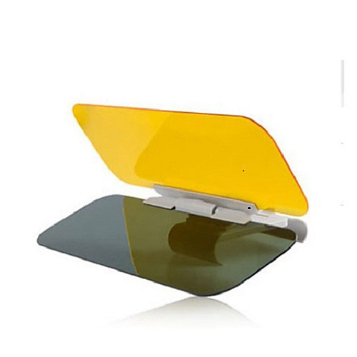 Купить со скидкой день и ночь автомобиль антибликовые очки ночного видения вождения зеркало солнцезащитные козырьки