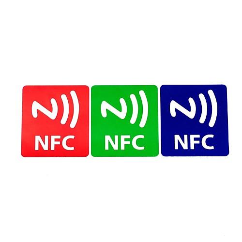 NFC теги наклейки полностью совместим ntag203 144 байт (3 шт)