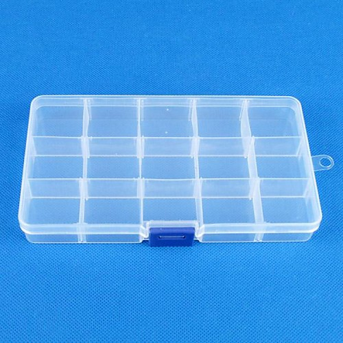 Квадратный Коробки для бижутерии - Мода Прозрачный 17.5 cm 10 cm 2.5 cm / Жен. ювелирные изделия diy 1 штук коробки для бижутерии пластик квадратный шарик 15 cm diy ожерелье браслеты