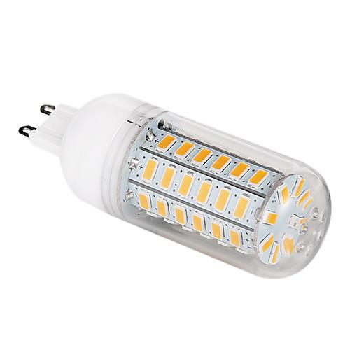1шт 5 Вт. 500-620 lm G9 LED лампы типа Корн T 56 светодиоды SMD 5730 Тёплый белый Холодный белый AC 220-240V