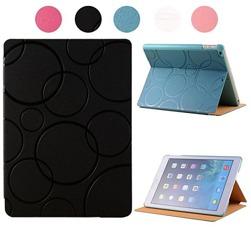 The Balloon Pattern PU Leather Case with Stand for iPad 2/3/4