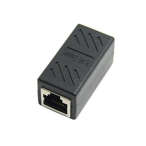 cat6 rj45 Женский Женский Разъем LAN Ethernet сетевой адаптер кабель-удлинитель с щитом