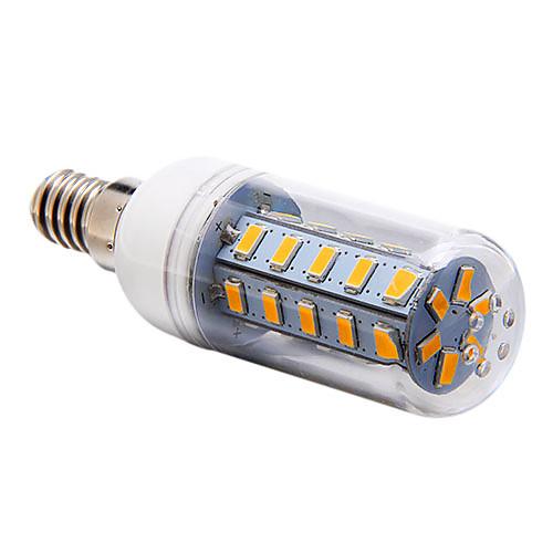 YWXLIGHT 700 lm E14 G9 E26/E27 LED лампы типа Корн T 36 светодиоды SMD 5730 Тёплый белый Холодный белый Естественный белый AC 220-240V