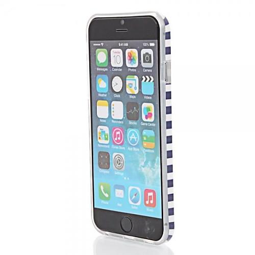 синяя полоса& мачете модели сплошной цвет TPU защитный чехол для Iphone 6с 6 плюс от MiniInTheBox.com INT
