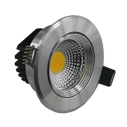 затемнения 5w 500lm теплый белый / холодный белый COB светодиодный светильник Светодиодный потолочный светильник для внутреннего освещения