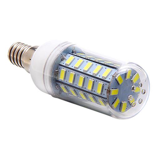 3.5W 250-300 lm E14 LED лампы типа Корн T 48 светодиоды SMD 5730 Естественный белый AC 220-240V