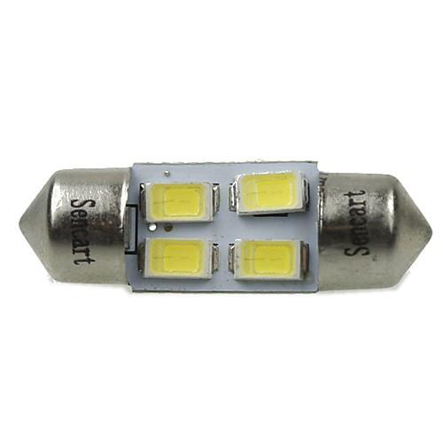 31mm Автомобиль Лампы 2W SMD 5730 120-160lm 4 Светодиодная лампа Внутреннее освещение For Универсальный цена