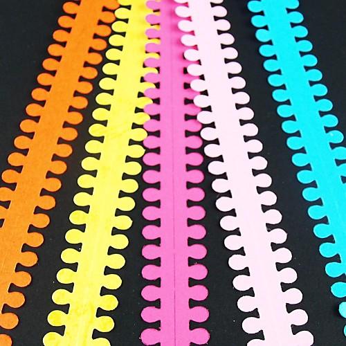 5шт 1.9cm х 51см круглые лепесток квиллинг цветок набор бумаги творческий поделки оригами бумаги прокатки