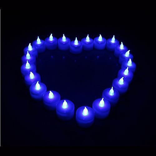 Coway 1шт привело Буле свеча в форме света Партии питания свадебные украшения