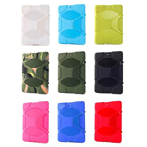 Survivor Series Shockproof Silicone Protective Case with Stand for iPad Air (Assorted Color)