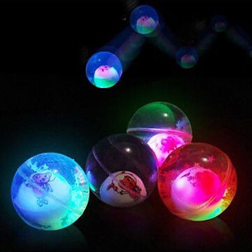 Coway мультфильм хрустальный шар света волшебным прыгающий мяч переменная хромосферы ночника