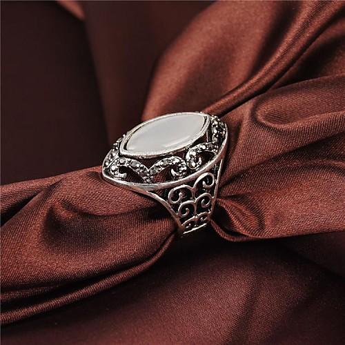 старинные классические опалы горный хрусталь 18k позолоченный полые мужской кольцо. мужские кольца с бриллиантами