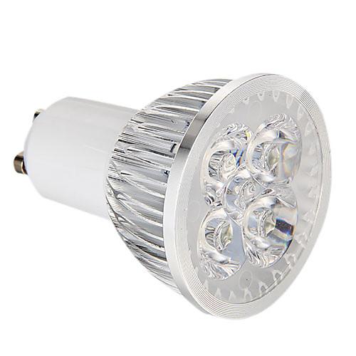 360 lm GU10 Точечное LED освещение 4 светодиоды Высокомощный LED Диммируемая Естественный белый AC 220-240V
