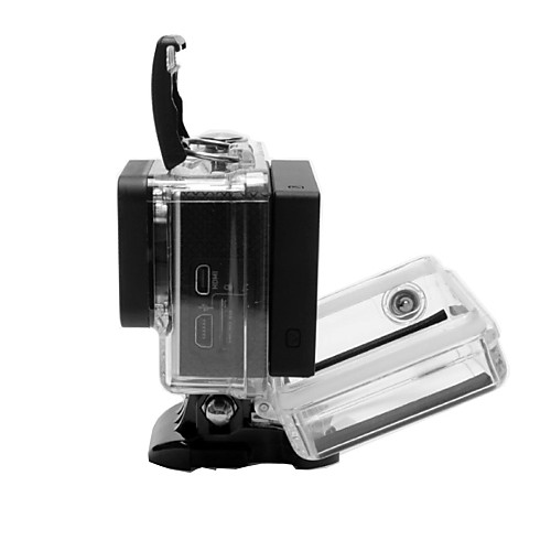 защитный футляр ЖК-экран адаптер Водонепроницаемый Для Экшн камера Gopro 5 Gopro 4 Gopro 3 Езда на снегоходах катание на лодках Каякинг от MiniInTheBox.com INT