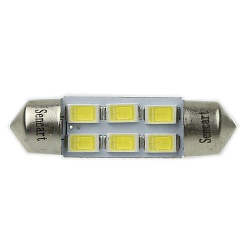 SO.K Фестон Автомобиль Лампы SMD 5730 180-220 lm Внутреннее освещение For Универсальный цена