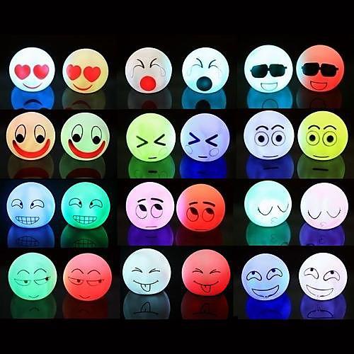 Coway разноцветных привело ночник выразительным (разных цветов)