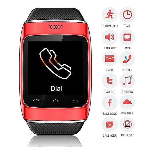 zgpax S12 носки SmartWatch камера СМИ управления сообщение / руки-бесплатные звонки / шагомер для Android / IOS