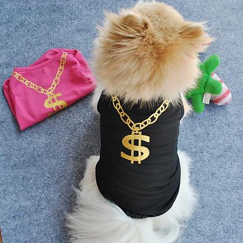 Кошка Собака Футболка Одежда для собак Черный Зеленый Синий Розовый Терилен Костюм Для домашних животных Косплей Свадьба