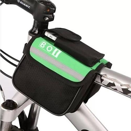 все цены на BOI 8 L Бардачок на раму / Верхняя сумка для трубки Водонепроницаемость, Отражение Велосумка/бардачок Полиэстер Велосумка/бардачок Велосумка Велосипедный спорт / Велоспорт онлайн