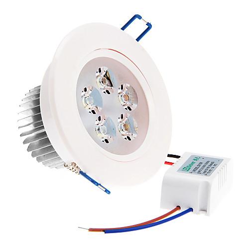350 lm Потолочный светильник 5 светодиоды Высокомощный LED Тёплый белый Холодный белый Естественный белый AC 220-240V lightmyself™ монтаж заподлицо потолочный светильник хрусталь мини led 110 120вольт 220 240вольт теплый белый холодный белый