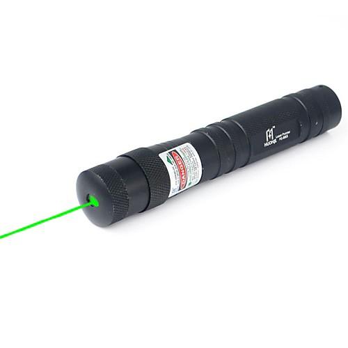 Фонарик в форме Лазерная указка 532nm Aluminum Alloy