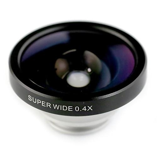 Универсальный 0.4x широкоугольный объектив для IPhone / IPhone 6 6 Plus IPad / Samsung и другие от MiniInTheBox.com INT