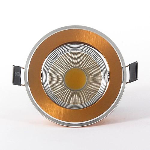 5w 400-500lm 6000-6500K холодный белый поддержка цвет затемнения COB светодиодный панель Светодиодные потолочные светильники (110v)