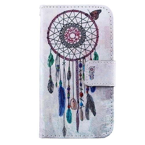 Wind Chimes Pattern PU Leather Full Body Case with Stand for Motorola MOTO G
