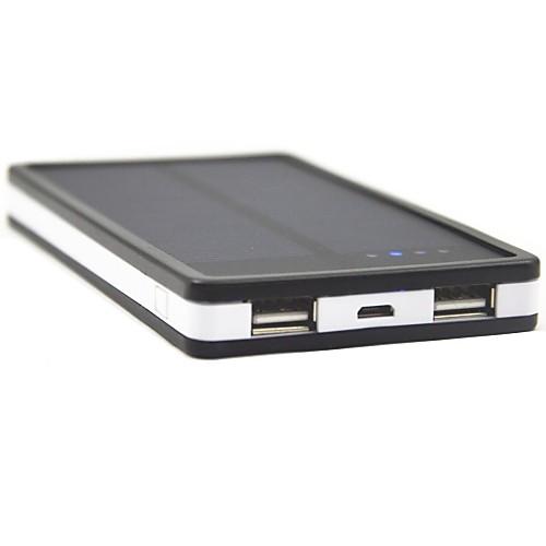 Солнечный, внешний аккумулятор для IPhone черный 6/6 Plus, TOCHIC Т-1 5V 6000mAh от MiniInTheBox INT