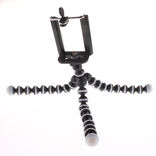 Desk Universal / Mobile Phone Mount Stand Holder Tripod Universal / Mobile Phone Silicone / Plastic Holder