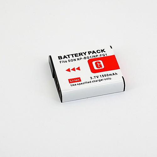Digital Video заменить аккумулятор Sony NP-BG1 для Sony Cyber-shot W30, W35 и более (3,6 В, 1200 мАч)