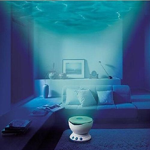 привело ночь свет проектора океана Дарен волны Проектор проекционная лампа со спикером