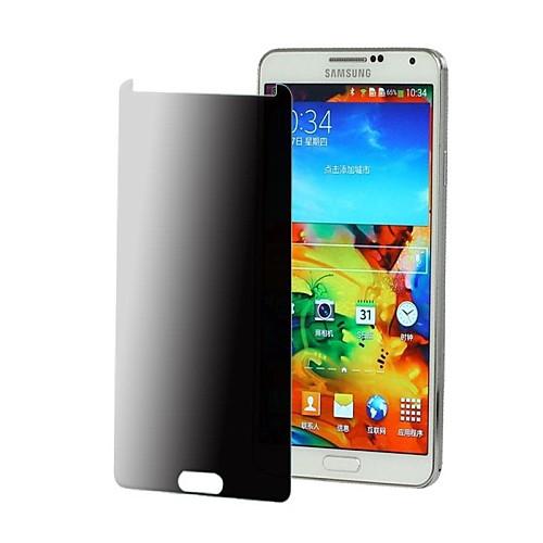 Анти-Шпион Протектор экрана из закаленного стекла для Samsung Galaxy Note 3, ткань для очистки в комплекте, 0.3mm от MiniInTheBox.com INT