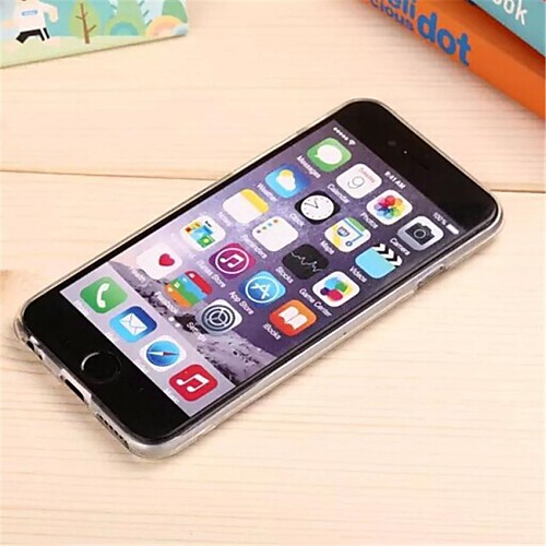 хит лицо шаблон TPU мягкий чехол для iphone 6 / 6с от MiniInTheBox.com INT