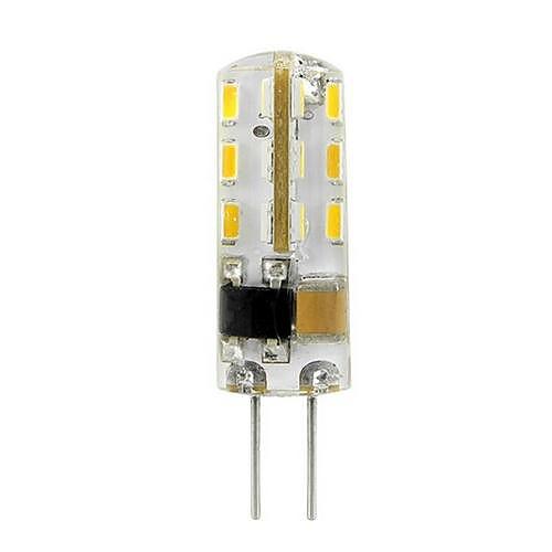 1,5 Вт 100-120 lm G4 Точечное LED освещение 24 светодиоды SMD 3014 Тёплый белый Холодный белый AC 220-240V от MiniInTheBox.com INT