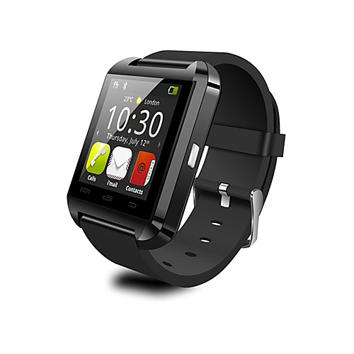 U8 Smart Watch BT 4.0 Cheap Fitness Tracker Support Notify Compatible SAMSUNG/SONY Android Phones & Apple