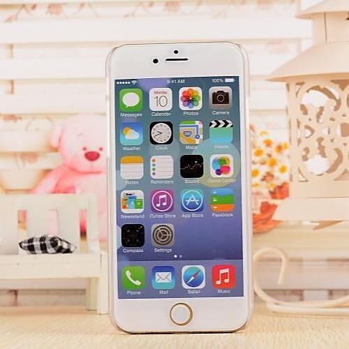 хит лицо шаблон TPU мягкий чехол для iphone 6 / 6с от MiniInTheBox INT